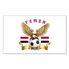 Yemen Football Design Decal