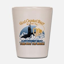 God Created Beer (Submariner) Shot Glass