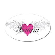 My Sweet Angel Leilani 20x12 Oval Wall Decal