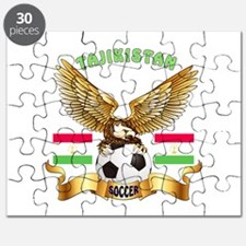 Tajikistan Football Design Puzzle
