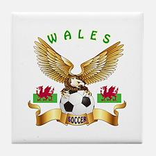 Wales Football Design Tile Coaster