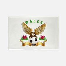 Wales Football Design Rectangle Magnet