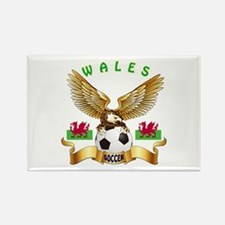 Wales Football Design Rectangle Magnet (100 pack)