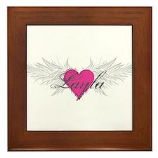 My Sweet Angel Layla Framed Tile