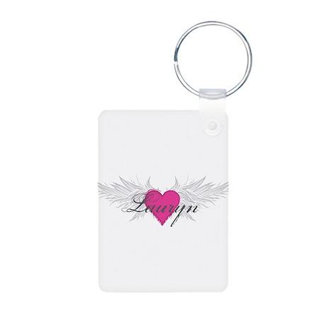 My Sweet Angel Lauryn Aluminum Photo Keychain