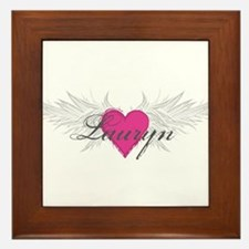 My Sweet Angel Lauryn Framed Tile