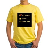 Ar 15 Mens Yellow T-shirts