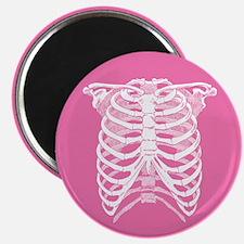 Pink Ribcage Magnet