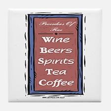 Drink List Tile Coaster