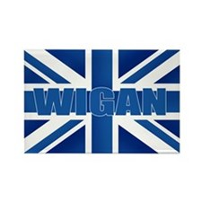 Wigan England Rectangle Magnet