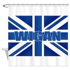 Wigan England Shower Curtain