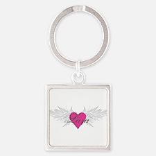 My Sweet Angel Lara Square Keychain