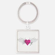 My Sweet Angel Laney Square Keychain
