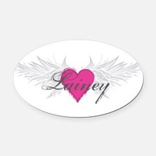 My Sweet Angel Lainey Oval Car Magnet