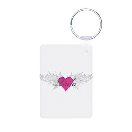 My Sweet Angel Laila Aluminum Photo Keychain