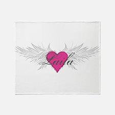 My Sweet Angel Laila Throw Blanket