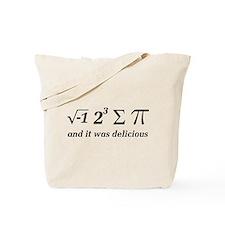 Cute Math geek Tote Bag