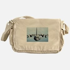 C-130 Spooky Aircraft Messenger Bag