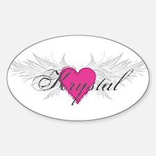 My Sweet Angel Krystal Decal