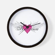 My Sweet Angel Kristina Wall Clock