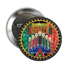 Celebrate Kwanzaa Button