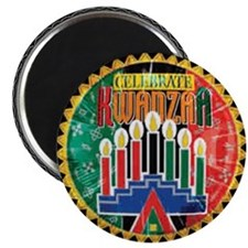 "Celebrate Kwanzaa 2.25"" Magnet (10 pack)"