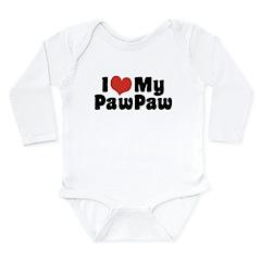 I Love My PawPaw Long Sleeve Infant Bodysuit
