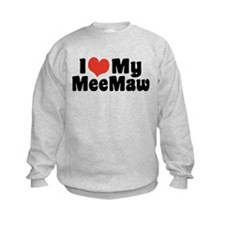 I Love My MeeMaw Sweatshirt