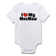 I Love My MeeMaw Infant Bodysuit