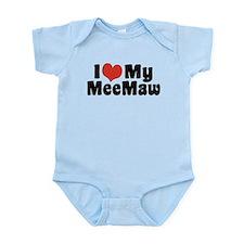 I Love My MeeMaw Infant Bodysuit
