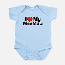 I Love My MeeMaw Onesie