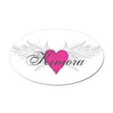 My Sweet Angel Kimora Oval Car Magnet