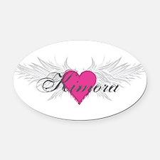 My Sweet Angel Kimora Oval Car Magnet