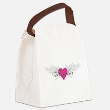 My Sweet Angel Kimber Canvas Lunch Bag