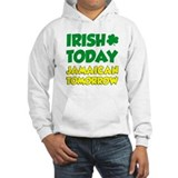 Jamaican irish Hooded Sweatshirt