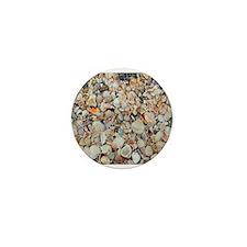Beach Shells Mini Button