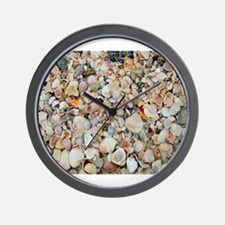 Beach Shells Wall Clock