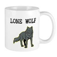 Lone Wolf Small Mug