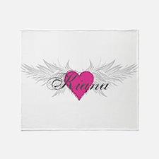 My Sweet Angel Kiana Throw Blanket