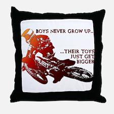 Bigger Toys Dirt Bike Motocross Funny T-Shirt Thro