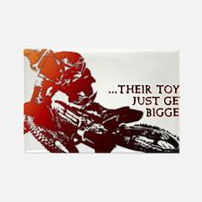 Bigger Toys Dirt Bike Motocross Funny T-Shirt Rect