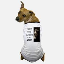 Written In Red - de Cleyre Dog T-Shirt