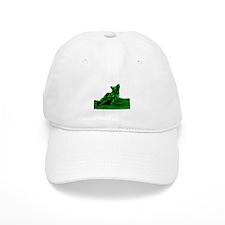 RV1bike green Baseball Cap