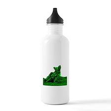 RV1bike green Sports Water Bottle