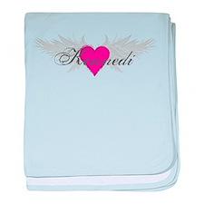 My Sweet Angel Kennedi baby blanket