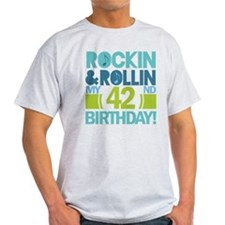 42nd Birthday Rock and Roll T-Shirt