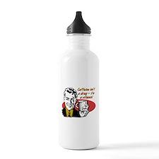 Caffeine Vitamin Funny Coffee T-Shirt Water Bottle