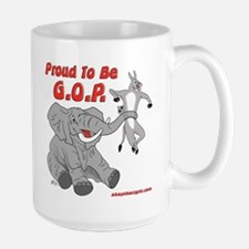 Proud to be GOP Mug