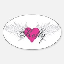 My Sweet Angel Kelly Sticker (Oval)