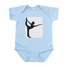 Bikram Yoga Bow Pose Infant Bodysuit